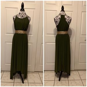 Ankle length casual dress size 2X